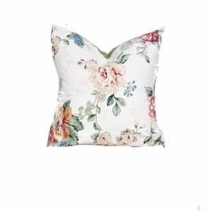 Other - Cushion cover, floral pillow cover, farm house